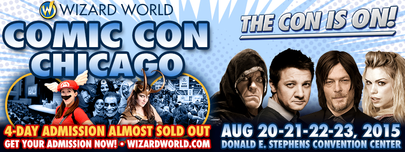 King idea media chicago comic con 2015 con produces pop culture conventions across north america to celebrate the entertainment industry come meet greet all your favorite celebrities m4hsunfo